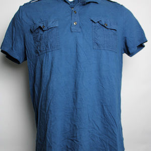 Rock & Republic XL Short Sleeve Polo Shirt